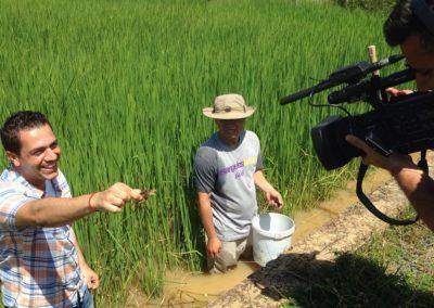 צילומים בכפר בויאטנם